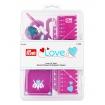 """651223 Prym Love Набор """"Шитьё"""", 8 предметов, розовый"""