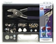 651420  Prym Перфоратор Vario Plus с комплектом насадок