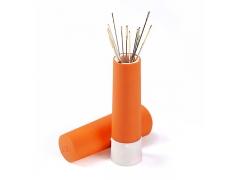 610285 Prym Вращающаяся игольница-тубус с набором игл, оранжевая