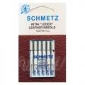130/705H Иглы Schmetz для кожи №80-100 по 5шт.