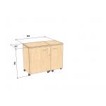 Стол для швейного оборудования Комфорт 5N
